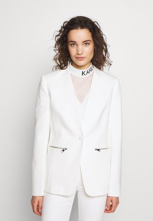 PUNTO JACKET LOGO TAPE - Blazer - off white