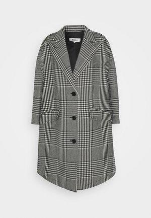 Wollmantel/klassischer Mantel - black/grey