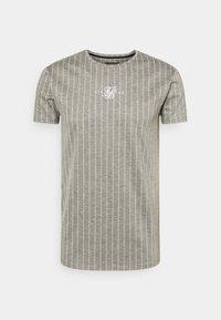 SIKSILK - RAGLAN TECH TAPE TEE - T-shirt con stampa - grey - 3
