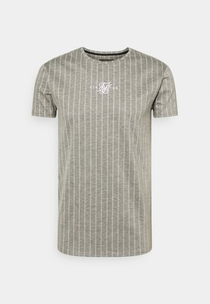 RAGLAN TECH TAPE TEE - Print T-shirt - grey