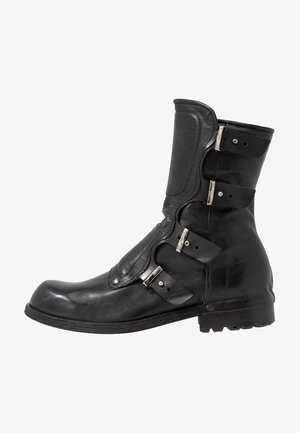SHIELD - Cowboy/Biker boots - nero