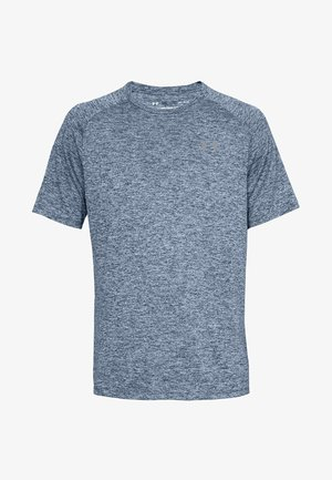 HEATGEAR TECH  - Print T-shirt - blue grey