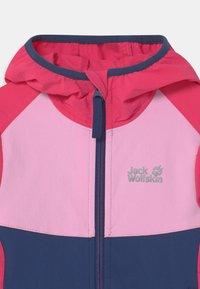 Jack Wolfskin - TURBULENCE GIRLS - Soft shell jacket - dark indigo - 2