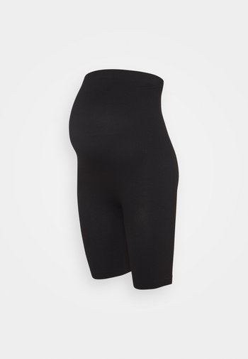 Seamless maternity cycling shorts