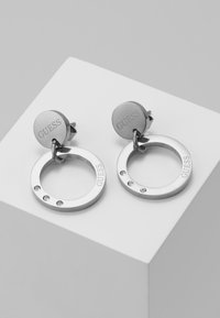 Guess - ETERNAL CIRCLES - Earrings - silver-coloured - 0