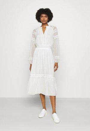SWINTON SWISS DRESS - Jurk - white