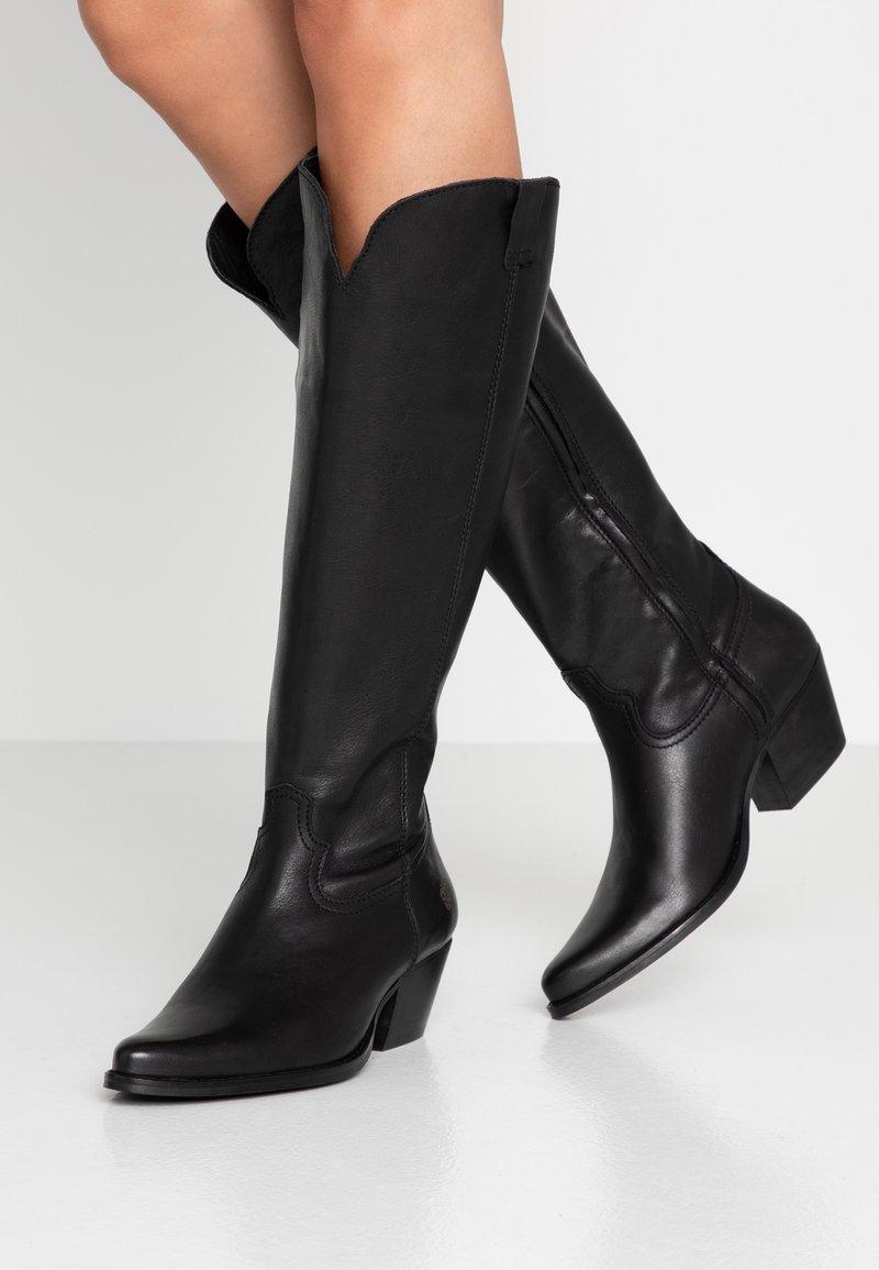 Apple of Eden - CELYN - Cowboy/Biker boots - black