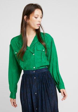 GRETCHEN - Button-down blouse - vert