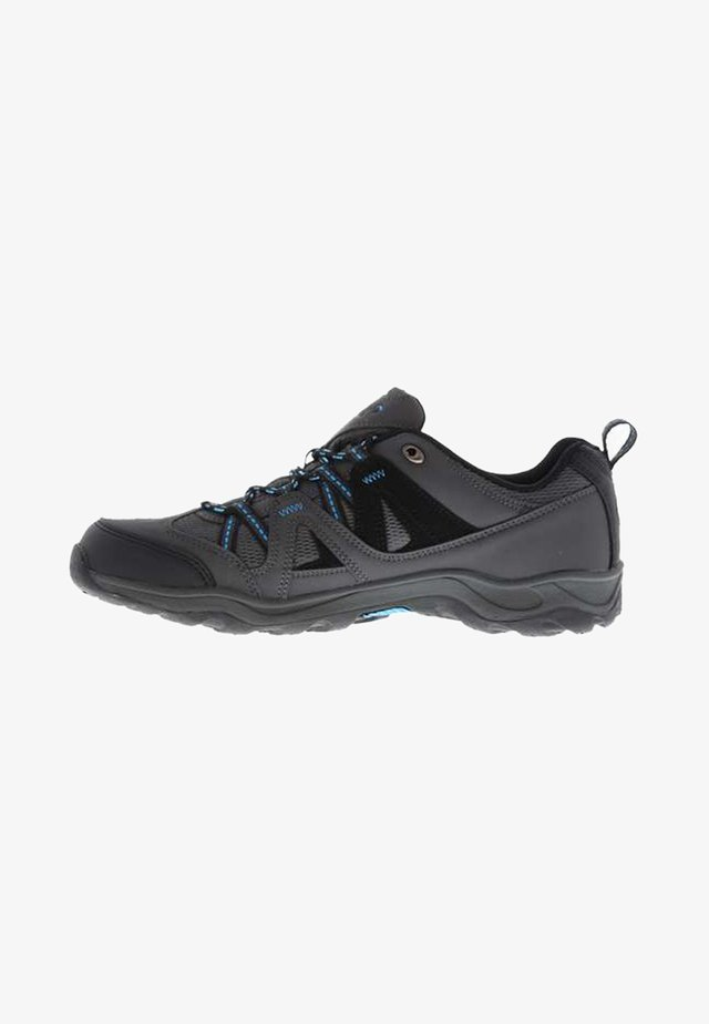 Hiking shoes - anthracite/blue