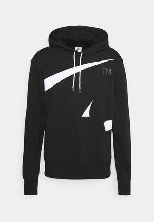 HOODIE - Sweatshirt - black/(white)