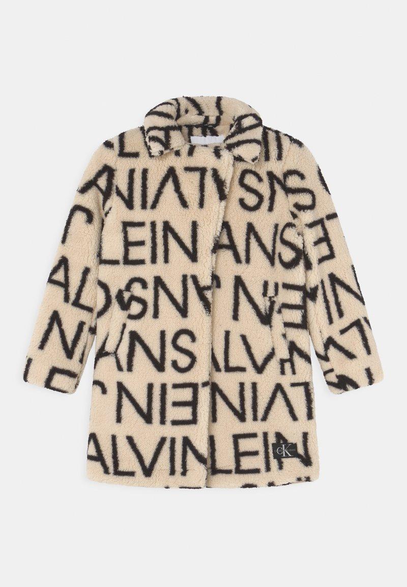 Calvin Klein Jeans - LOGO COAT - Winter coat - whitecap grey/black