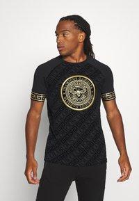 Glorious Gangsta - LANZO  - T-shirt con stampa - black - 0