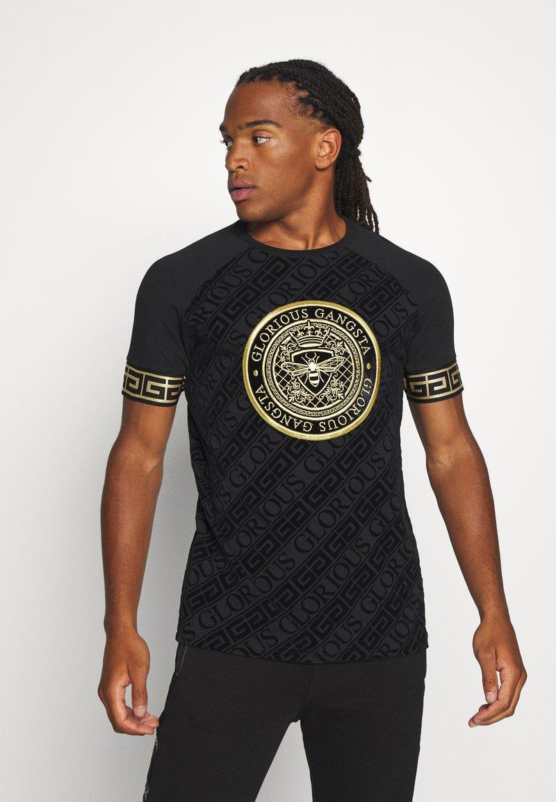 Glorious Gangsta - LANZO  - T-shirt con stampa - black