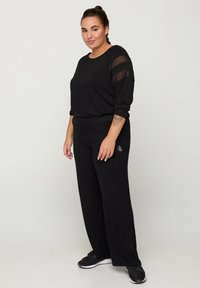 Active by Zizzi - Trousers - black - 0