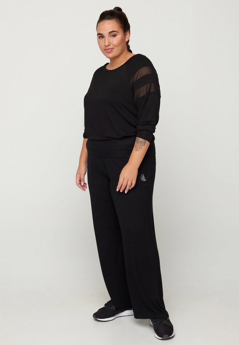 Active by Zizzi - Trousers - black