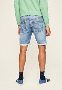 Pepe Jeans - STANLEY - Denim shorts - blue - 2