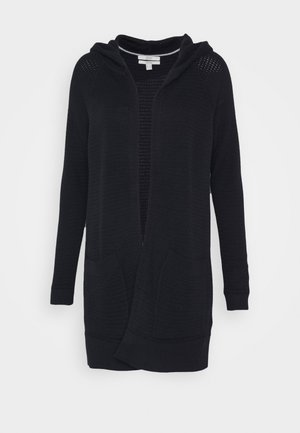 HOODED CARD - Cardigan - navy
