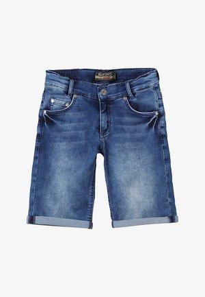 BOYS BASIC - Shorts vaqueros - blue medium