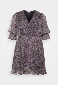 ONLY Carmakoma - CARINA LIFE PRINT TUNIC DRESS - Day dress - ombre blue - 0