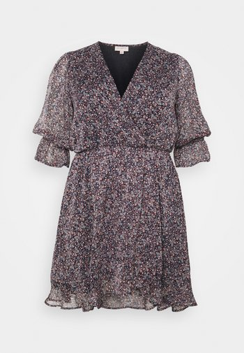 CARINA LIFE PRINT TUNIC DRESS - Day dress - ombre blue