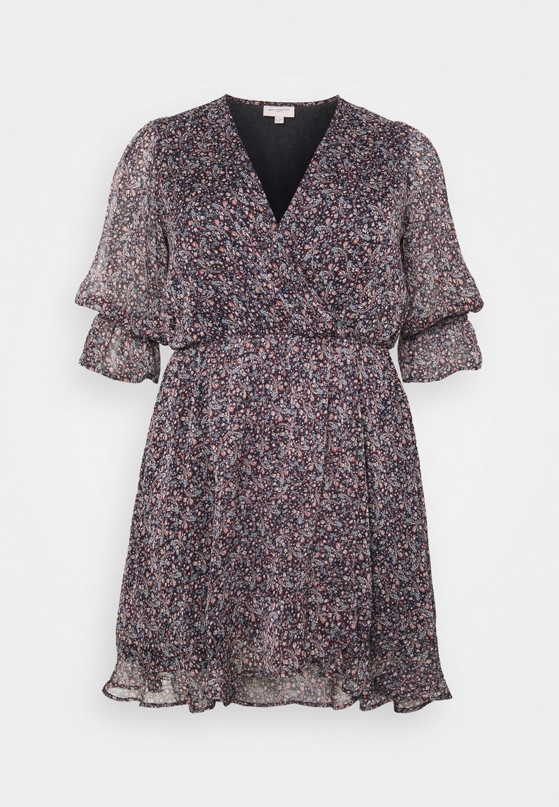 ONLY Carmakoma - CARINA LIFE PRINT TUNIC DRESS - Day dress - ombre blue