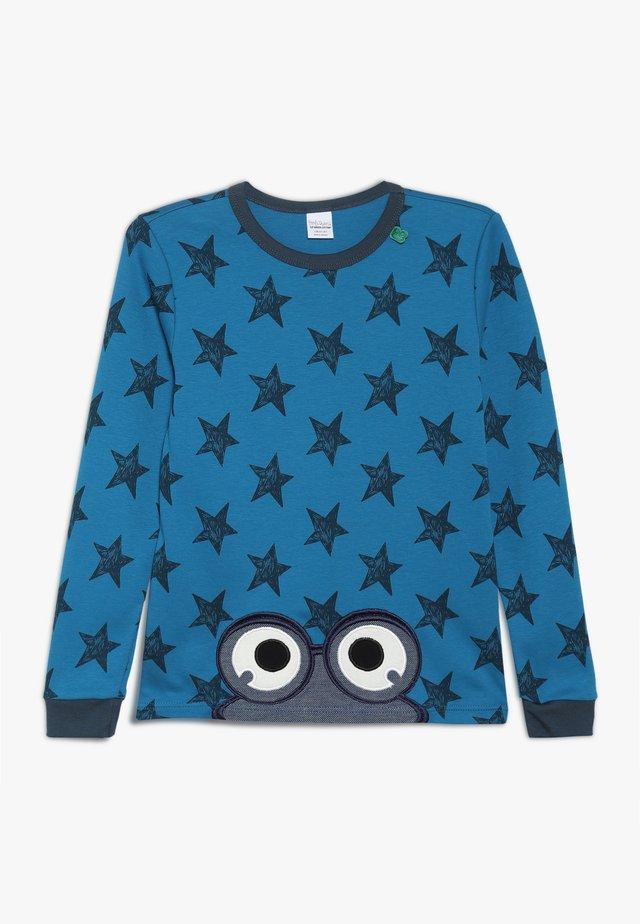 STAR PEEP - Long sleeved top - deep blue