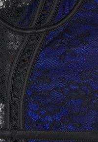 Ann Summers - SWEET SEDUCTION BASQUE  - Corpetto - black/blue - 2