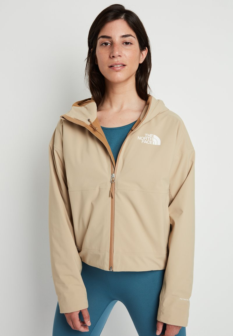 The North Face - W FL INSULATED JACKET - Hardshelljacke - hawthorne khaki