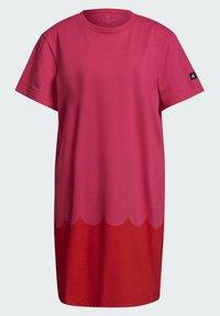adidas Performance - MARIMEKKO  - Jersey dress - pink - 7