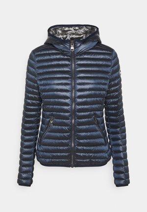 LADIES LIGHT JACKET HOOD - Down jacket - navy blue