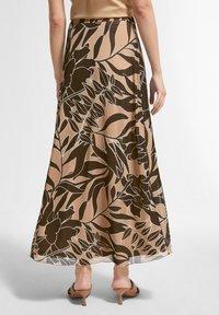 comma - BEDRUCKTER - A-line skirt - sahara leaf - 2