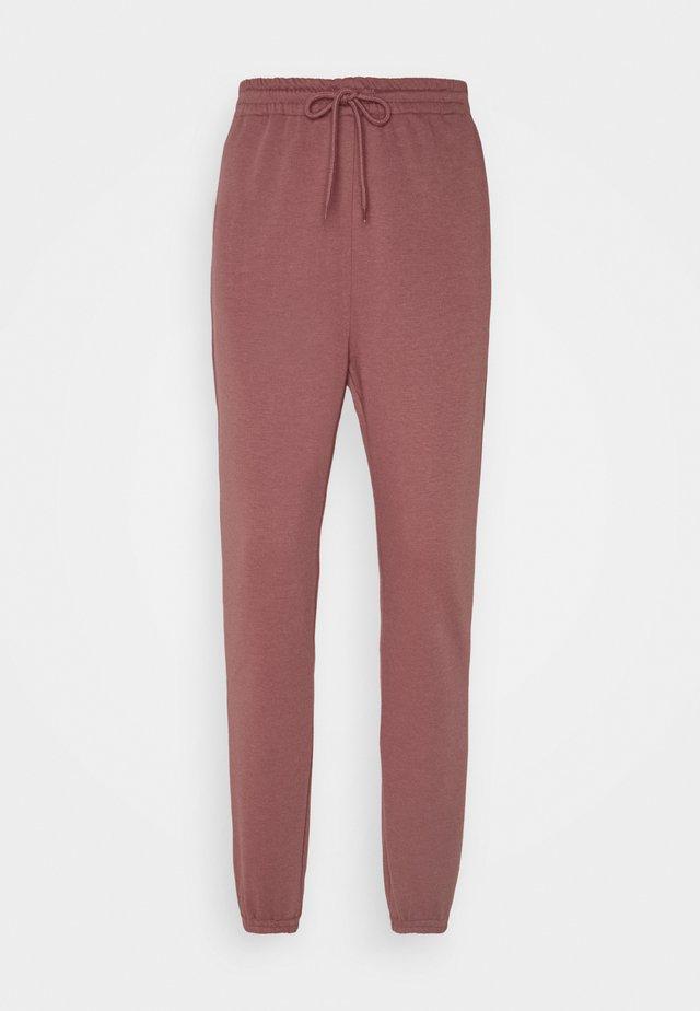 Spodnie treningowe - rose brown