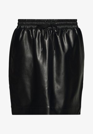 PCNIPPA SKIRT - Mini skirt - black