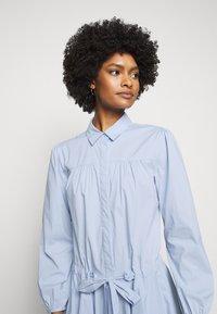 Steffen Schraut - BROOKE FANCY DRESS - Shirt dress - sky blue - 3