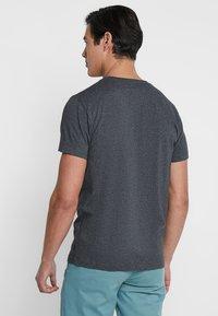 GANT - THE ORIGINAL - T-shirt - bas - anthracite - 2