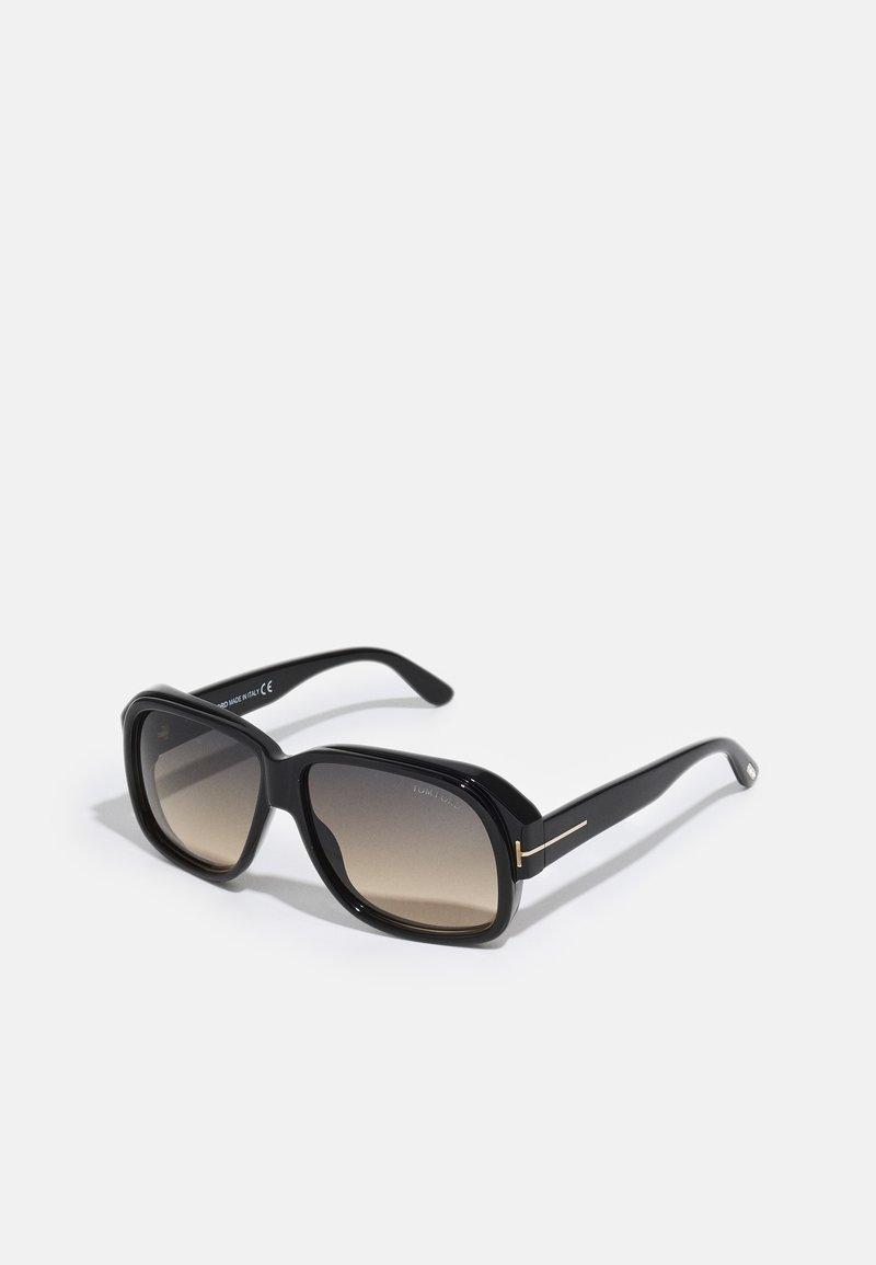 Tom Ford - UNISEX - Sunglasses - shiny black/ gradient smoke