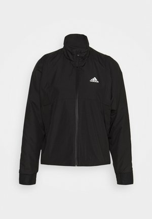 LIGHT - Outdoor jacket - black/white