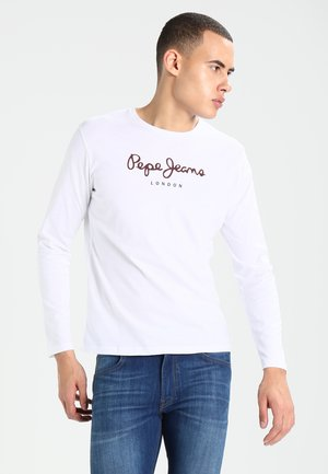EGGO LONG - Long sleeved top - white