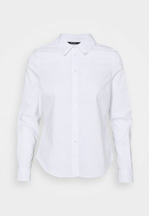 VMJULIE - Button-down blouse - bright white