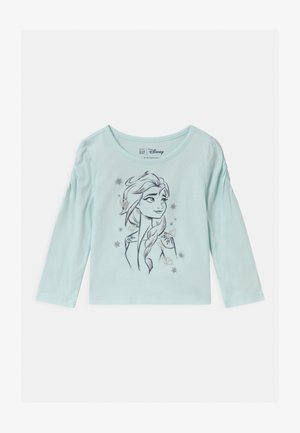 TODDLER GIRL DISNEY FROZEN ELSA  - Top s dlouhým rukávem - blue