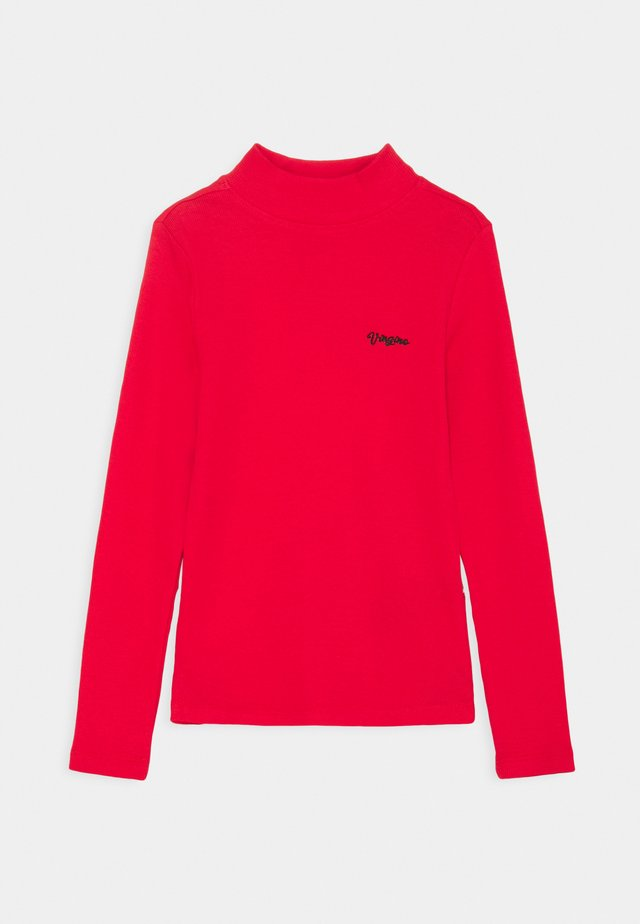 BASIC TEE - Long sleeved top - classic red