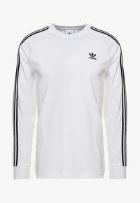 adidas Originals - 3 STRIPES UNISEX - Long sleeved top - white - 4