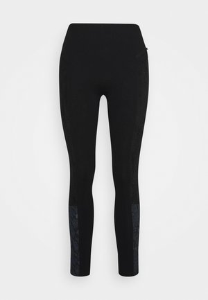 PANT SNAKE LADY - Leggings - Trousers - black