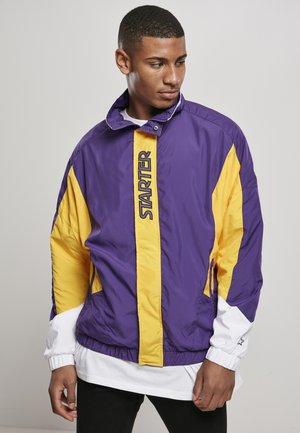 Training jacket - realviolet/californiayllw/wht