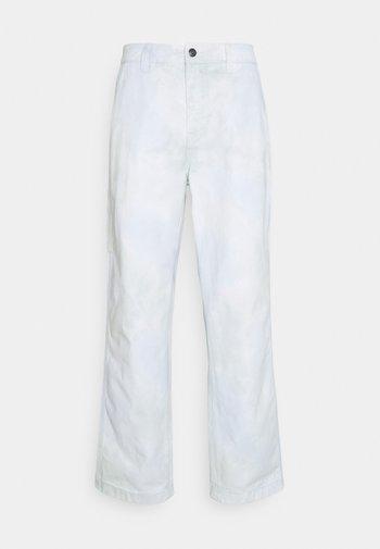 TIE DYE HARDWORK CARPENT PANT - Chinot - good grey multi