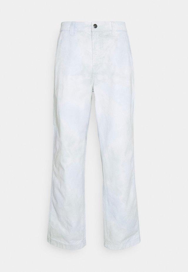 TIE DYE HARDWORK CARPENT PANT - Pantalones chinos - good grey multi