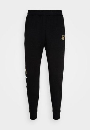 SIGNATURE TRACK PANTS - Verryttelyhousut - black