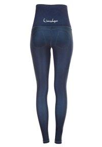 Winshape - HWL102 INDIGO-BLUE HIGH WAIST -TIGHTS - Leggings - rich blue - 7