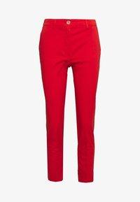 Rich & Royal - PANTS - Chino kalhoty - summer red - 0