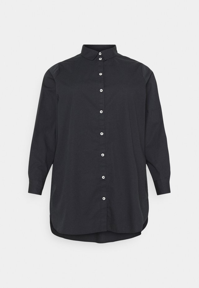 PCNOMA LONG SHIRT - Camicia - black